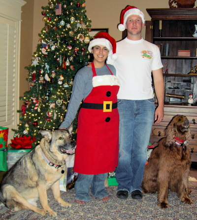 Guido and Annie celebrate Christmas with newlyweds Jessica and Eddie